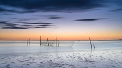 Standing strong (Ellen van den Doel) Tags: netherlands rockanje nature long blauwe pole sea summer 2017 strand juni low life pixels wolken meeting fishnet uur landscape hour nederland outdoor zeeland lop blue tide landschap clouds exposure natuur seascape le water kust beach zuidholland nl