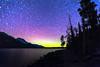 Aurora at Jenny Lake (ygchan) Tags: auroraborealis northernlights stars startrails nightsky wyoming grandteton nps