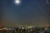 Dhaka Cityscape (Sujoy Rahman) Tags: photography photographer bangladesh bangladeshi cityscape city moon full canon landscape landscapes landscapephotography