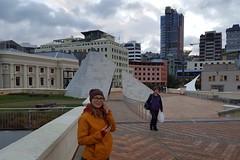 Stadtbummel in Wellington bei herbstlichen Temperaturen