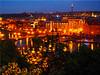 Prague at night (Ostseetroll) Tags: cze geo:lat=5009359648 geo:lon=1441283423 geotagged letnapark praha7bubeneč tschechien prag prague moldau nachtaufnahme nightshot mosty spiegelungen reflections praha