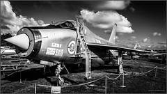 The iconic EE Lightning (G. Postlethwaite esq.) Tags: bw englishelectriclightning midlandairmuseum sonya7mkii sonyalphadslr airacraft blackandwhite coldwar interceptor mirrorless monochrome photoborder planes