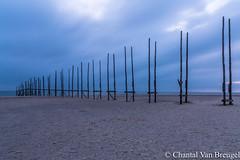 Texel bij paal 33 (Chantal van Breugel) Tags: blauweuurtje landschap strand texel zee zonsopkomst paal 33 stijger noordholland oktober 2017 canon5dmark111 canon1635