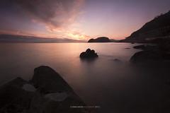 Goxo, goxua (ManuMatas) Tags: basquecountry getaria amanecer sunsine sunrise manumatas rocas suavidad sweet sun sol agua mar oceano 60d canon sigma 10 20 best gipizkoa