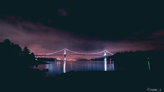 Lions Gate Bridge (samquattro) Tags: britishcolumbia westcoast westvancouver northvancouver northshore pnw vancity vancouver vancitybuzz vancouverisawesome vancouvercapture vancityoutdoor vancityhype vancitynight liongatebridge imagesofcanada vancouvercanada