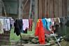 Washing day (Roving I) Tags: clothes laundry drying washing clotheslines houses homes hoabac hoavang domestic villages vietnam danang