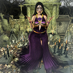 {Blog 310} She's Back... (veronica gearz) Tags: avi avatar blog blogging blogger blogs bloggers bento secondlife second sl maitreya mesh 2ndlife life lelutka truth moonamore disorderly friday n21 muka ersch hellogorgeous focusposes witch witches witchy peaches cemetery