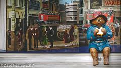 Paddington takes a break at Peters Hill. (Dave Pearce (London)) Tags: paddington bear pop up london peters hill st pauls childrens character