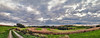 IMG_5714-19sPRtzl1scBbTLGERi (ultravivid imaging) Tags: ultravividimaging ultra vivid imaging ultravivid colorful canon canon5dmk2 clouds farm fields rural scenic vista pennsylvania pa panoramic painterly stormclouds sunsetclouds sky autumn autumncolors road rainyday twilight evening