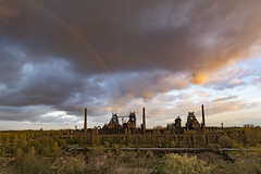 Abandoned industry (teamnullvier) Tags: duisburg lapadu landschaftsparkduisburg