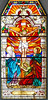 Crucification Nowa Osuchowa church (arturjasiński) Tags: stained glass window passion st mary magdalene john evangelist
