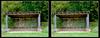 Longwood Gardens Walk 5 - Crosseye 3D (DarkOnus) Tags: pennsylvania bucks county panasonic lumix dmcfz35 3d stereogram stereography stereo darkonus longwood gardens scenic scenery trail path forest edge pavilion learning crossview crosseye
