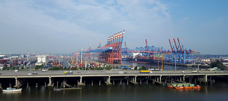 Container Terminal - Port of Hamburg, Germany