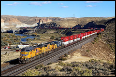 UP 6695 (golden_state_rails) Tags: up union pacific overland route green river jamestown wy wyoming