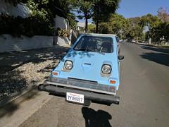 Homebrew solar neighborhood electric vehicle made a local teen 3, Burbank, California, USA (gruntzooki) Tags: solar makers burb burbank california cali cal ca usa losangeles electriccar automotive neighborhoodelectricvehicle