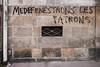 "#Manif10octobre #Nantes #GameOfTags: ""MEDEFENESTRONS LES PATRONS"" (ValK.) Tags: gameoftags loitravailxxl pjlterrorisme loitravail cabanedupeuple etatdurgencepermanant maisondupeuple nantes politique valk demonstration fonctionpublique graff graffiti greve intersyndicale manifestationunitaire social tag france fr"