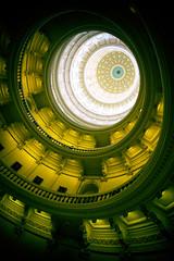 con·cen·tric (nixter) Tags: austin circle circles downtown lookup lookingup star statecapital texas tx yellow