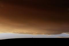 La frontera (una cierta mirada) Tags: sky clouds cloudscape sunset nature silhouette explore