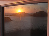 sa mesquida sortida del sol reflected (the incredible how (intermitten.t)) Tags: samesquida salidadelsol sortidadelsol amanecer sunrise menorca espaã±a balearicislands baleares illesbalears minorca sea sky cloud reflection window glass alternativesunrise 20160925 8196 españa
