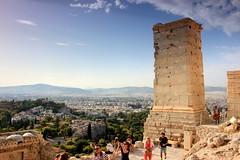 Propylaea (ika_pol) Tags: athens acropolis greece geotagged ancient ancientgreece antiquity ancientruins partenon architecture ancientarchitecture