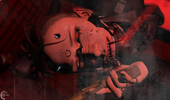 [ S C U M ] (Ranmyaku Haiku) Tags: anxiety antihero art antichrit bad boy black bloody creepy chaos dark demon devil dirty death evil eyes 3d edit filthy flickr face fight gritty grunge game gun gimp hellfire horror hand indoor king life mre male mesh man mistere metal ominous organization obscure people person photoshop portrait roleplay rp resident relaxed redemption srr secondlife sl slcreation slrp scary scifi shadowrun tattoo villian villians wall psycho killer homicide 187