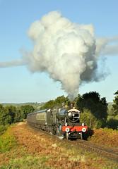 7812 Erlestoke Manor near Bewdley Tunnel. (johncheckley) Tags: uksteam manor autumn locopassengertrain d90