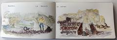 Récolte du goémon (chando*) Tags: aquarelle watercolor croquis sketch bretagne brittany finistère moleskine