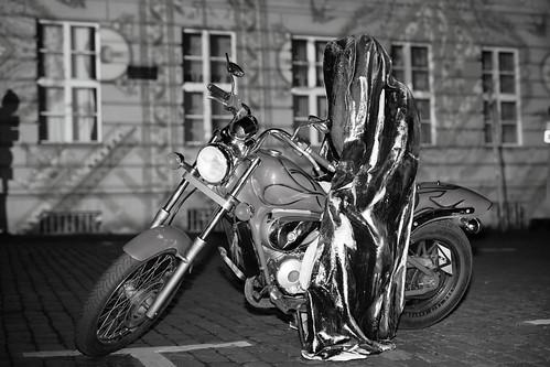 Festival of Lights - Time Traveler - Guardian rider  - B&W [2/2]