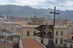 Antica banderuola dalla cupola della chiesa del SS. Salvatore (costagar51) Tags: palermo sicilia sicily italia italy arte storia chiese anticando