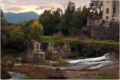Patrica (Fr) (bartric - Bartolomeo) Tags: patrica frosinone fiume sacco autunno bartolomeo hdr nikon d70 panorama landscape