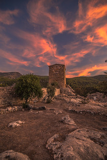 Sunset in the 4-3BC fortress