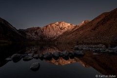 Fall Colors - Convict Lake, Early Morning Moon Light (www.karltonhuberphotography.com) Tags: 2017 bluesky california calm convictlake earlymorning easternsierra fallcolorstrip geologicformation geologicwonder geology horizontalimage invigorating karltonhuber lake landscape laurelmountain moonlight morninglight mountainpeaks mtmorgan peaceful reflections therapeutic upearly water