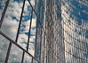 ...clouds reflection (christikren) Tags: reflections mirror building blue clouds christikren austria architecture facade glass modern offices panasonic perspective pattern spiegelung vienna windows lines geometry skyscraper linescurves