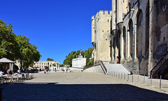 Place du Palais des Papes (Diegojack) Tags: avignon provencealpescôtedazur france place palais papes monuments musée paysages