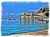Loggos - Paxos (Julie A1) Tags: roxi sailingboat harbour loggosharbour loggos boats loads bluesky bluesea sea greece paxos