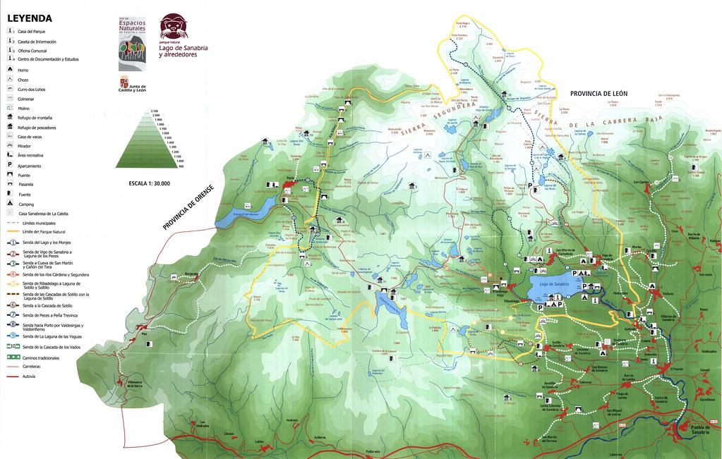 PARQUE NATURAL DEL LAGO DE SANABRIA Y ALREDEDORES
