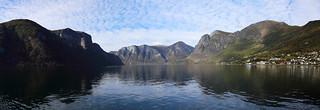 Nærøyfjord, Aurlandsvangen, Norway.