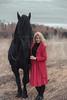 IMG_5069 (Katerina Dorohova) Tags: horse frieshorse blackhorse horses ladyinred photoshootwiththehorse autumn