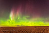 Aurora of September 27, 2017 - Looking North View #3 (Amazing Sky Photography) Tags: aurora northernlights home alberta north curtains field prairie bigdipper