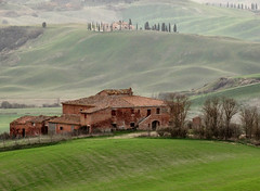 Toscane (Jolivillage) Tags: jolivillage paysage paesaggio landscape maison house casa toscane tuscany toscana italie italia italy europe europa vert verde green picturesque old geotagged
