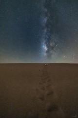 1D4A1945 (zai Qtr) Tags: qatar milkyway exploreqatar sand dunes night longexposure zaiqtr tamimalmajd