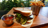 Blackened chicken sandwich (Vancouverscape.com) Tags: 2017 prospectpoint stanleypark vancouver dining