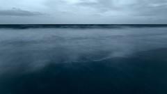 Beyond the mind (monochrome) (RKAMARI) Tags: 2016 antalya belek clouds greatness landscape longexposure mediterranean reddish sea sunset travel vacation