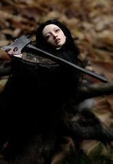 head (dolls of milena) Tags: bjd abjd resin doll sian elfdoll portrait axe