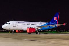 IMGP7339_OM-BYK_GLA (ClydeSights) Tags: a319115xcj egpf airbus slovakgovernmentflyingservice ombyk gla 319 airbusa319 glasgowinternationalairport a319 cn1485