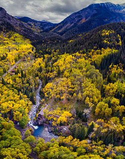 Crystal Mill Aerial