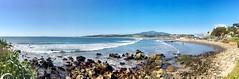 """Concón"" (atempviatja) Tags: marítimo paseo azul color montaña pueblo cielo mar playa concón"