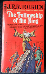 The Lord of the Rings 1 - Fellowship of the Ring (Gwydion M. Williams) Tags: books bookcovers british usa acebooks tolkien lordoftherings fellowshipofthering