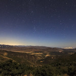 Nighttime VIew of Anza-Borrego From Desert View Park thumbnail