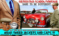 Dapper Tweed Fashion  part 10 (Tweed Jacket + Cavalry Twill Trousers = Perfect) Tags: tweedcap tweedjacket cap coat vintage cars car auto autos vehicle nz kiwi blazer plaid houndstooth harris gents man fashion retro canon outdoor newzealand tweedride distinguished dapper uk british old menswear show rally parked oldschool vehicles cavalrytwilltrousers mens wool woolen scottish distingushedgentlemensride thetweedrun carclub carshow carrally 1950s 50s 1960s 60s 1970s 70s 1980s 80s morrisminor auckland whangarei tauranga rotorua gisborne hastings napier hamilton newplymouth plamerstonnorth wellington nelson christchurch dunedin invercargill